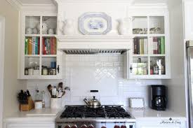 rustic glass kitchen cabinets mixing vintage decor with new how and why you should do it