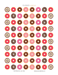 donut wrapping paper donuts planner addiction