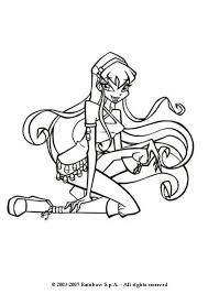 coloring book pages winx club stella the winx club coloring pages hellokids