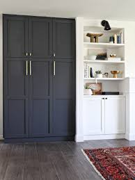 paint color cyberspace by sherwin williams ikea pax cabinets