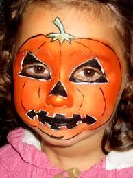 6 best images of halloween face art halloween pumpkin face