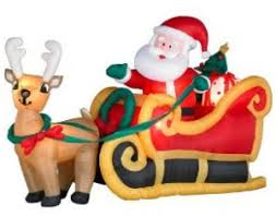 Outdoor Christmas Decorations On Ebay by 61 Best Santa Sleigh And Reindeer Outdoor Decoration Images On