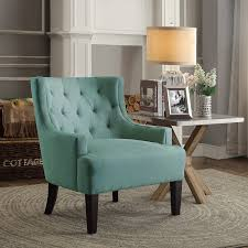 Teal Accent Chair Dulce Teal Accent Chair For 269 94 Furnitureusa