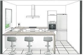 plans de cuisine ouverte beau plan de cuisine ouverte avec plan cuisine 2017 photo