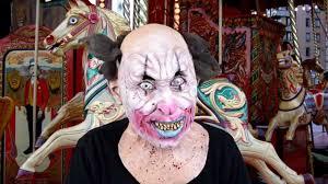 Killer Clown Mask Halloween Masks Trendyhalloween Com Youtube