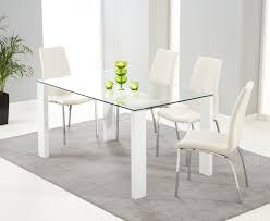 White Gloss Dining Tables And Chairs Outstanding White Dining Table Set Uk Fern Gloss Extending 16 Home