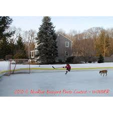 back yard outdoor ice rinks hockeyshot