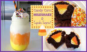 easy candy corn milkshake u0026 cupcakes missjenfabulous youtube