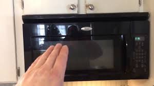 Ventless Microwave How To Remove A Microwave Oven Over The Range Youtube