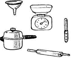 coloriage ustensiles de cuisine coloriage de ustensiles cuisine