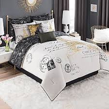 paris gold 8 piece queen comforter set in gold queen comforter