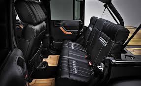 Jeep Wrangler Nautic Concept Leather Luxury Interior Flickr