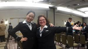 yan u0027s december 2015 united flight attendant graduation ceremony