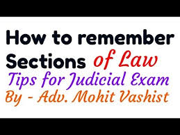sections in law how to learn and remember sections of law youtube