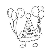 top 10 free printable balloon coloring pages online