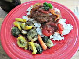 fork tender swiss steak southern plate