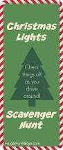 christmas lights printable scavenger hunt scavenger hunts