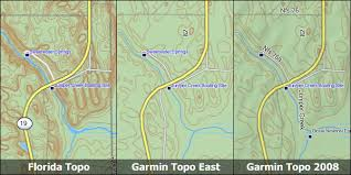 florida topo map florida topo garmin compatible map gpsfiledepot