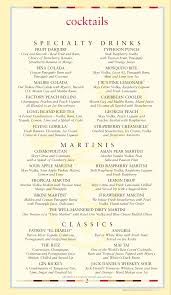 blue martini menu menu at the cheesecake factory 60 w wetmore rd restaurant prices
