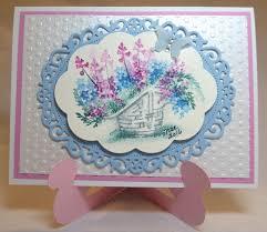 handmade watercolor cards impressions ai wonderful watercolor basket sku 4605