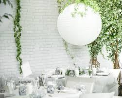 lanterne chinoise mariage maxi lanterne chinoise blanche pour décoration de salle mariage 75cm