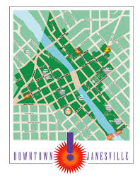 Janesville Wi Map Janesville Wi Downtown