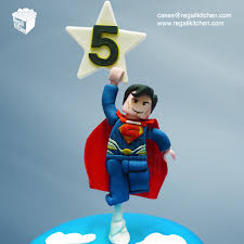 superman cake toppers flying lego superman cake topper cakes by the regali kitchen