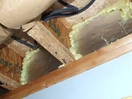 joist insulation options and methods