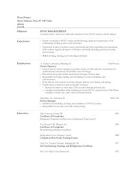 Welder Resumes Examples by Resume For Refrigeration And Airconditioning Mechanic Resume For