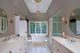 Stand Alone Vanity Beige Bathtub Bathroom Traditional With Beige Drawers Beige Vanity
