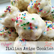 vegan italian anise cookies the friendly fig