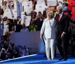 dnc bill and hillary clinton spoke about marriage time