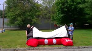 mickey mouse inflatable screen youtube