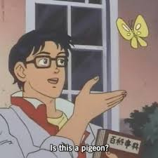 De Meme - is this a pigeon know your meme