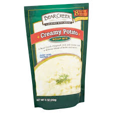 bear creek country kitchens creamy potato soup mix 11 oz
