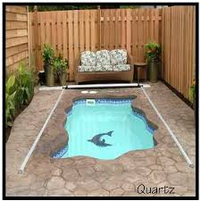 Swimming Pool Backyard by Best 25 Small Inground Pool Ideas On Pinterest Small Pool