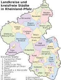 Trier Germany Map by Rhineland Palatinate Map