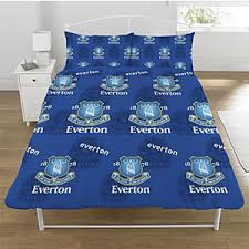 Postman Pat Duvet Set Buy Everton F C Duvet Set At Home Bargains