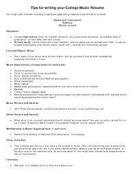 Musician Resume Examples Of Non Technical Skills On A Resume Essay On The Causes