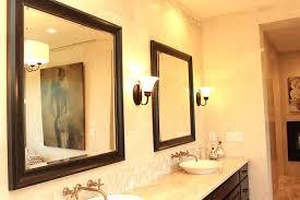 how to frame mirror in bathroom custom framed mirror bathroom mirrors framed bathroom mirrors