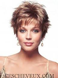 funky haircuts for fine hair short spikey wigs made from monofibre machine wefted hair