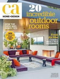 Home And Design Magazine Magazine California Home Design