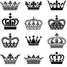 and king crowns design masculine tattoos