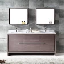 Vanity And Mirror Fresca Bath Fvn8172go Allier 72