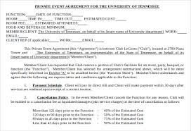 event contract template 18 free word excel pdf documents