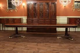 american empire style mahogany dining table