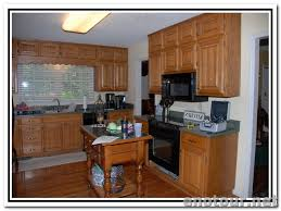 beautiful updating oak kitchen cabinets before and after kitchen