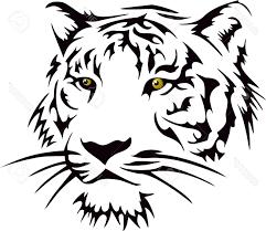 best free tiger head stock vector tattoo tribal design