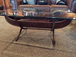 bob timberlake glass top coffee table coffee table coffee table canoe glass top for sale furniture