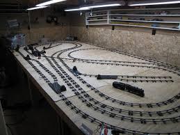 fold up train table folding train table model train heaven o n ho scale g z s gauge